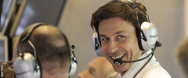 Toto Wolff says changing the engine design would actually increase costs