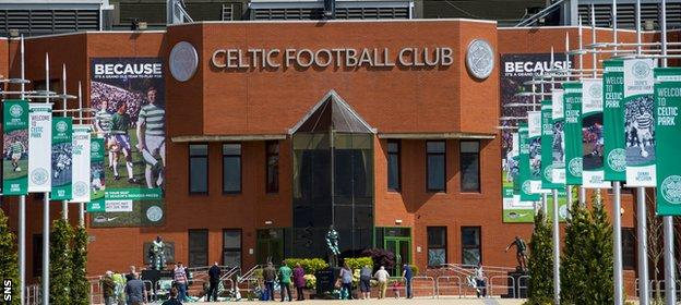 Celtic have been put under pressure to introduce the living wage.