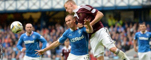 Hearts host Rangers today