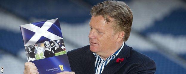 Former Scottish FA performance director Mark Wotte