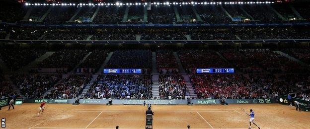 Davis Cup final in Lille