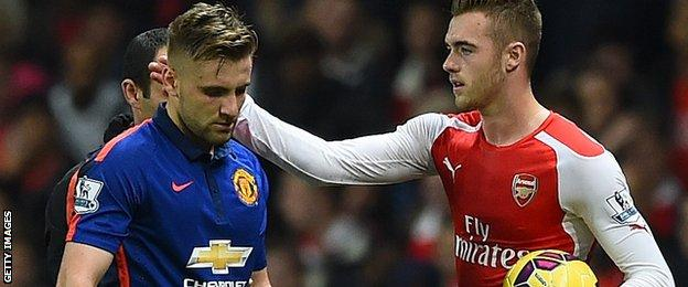 Luke Shaw and Callum Chambers