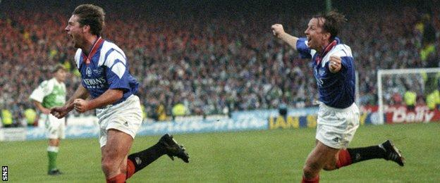 Ally McCoist bounced back from criticism early in his career to become an Ibrox legend