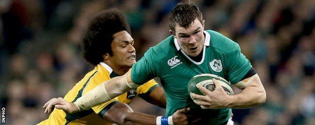 Henry Speight puts in a challenge on Peter O'Mahony