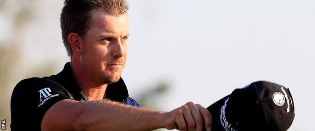 Henrik Stenson wins the World Tour Championship