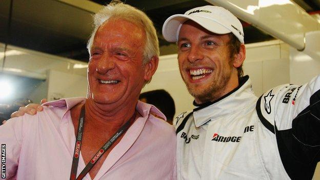 Jenson Button and John Button