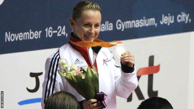 Lisa Whiteside for Great Britain