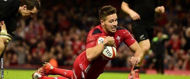 Wales scrum-half Rhys Webb