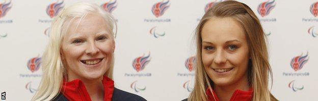 Kelly Gallagher and Charlotte Evans