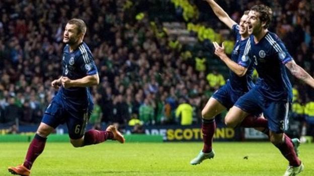 Scotland's Shaun Maloney