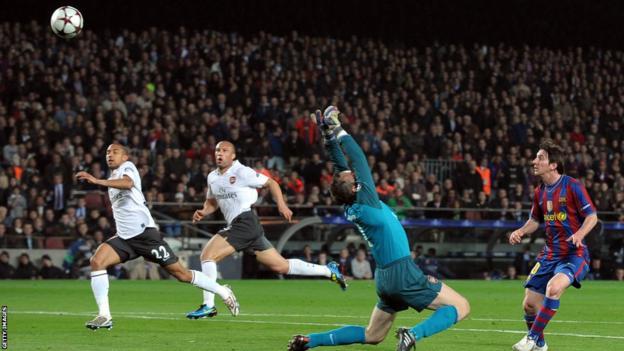Lionel Messi v Arsenal 2010