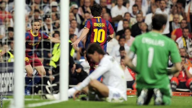 Lionel Messi v Real Madrid 2011