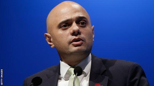 Secretary of State for Culture, Media and Sport Sajid Javid