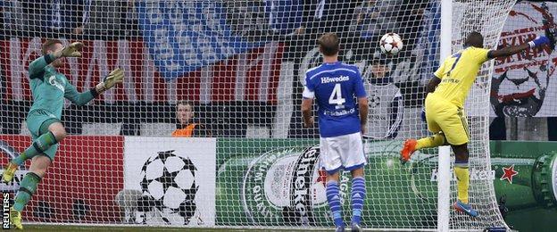 Schalke v Chelsea: Ramires