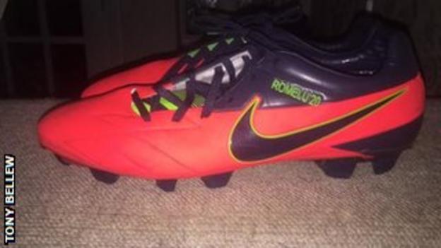Tony Bellew's new boots