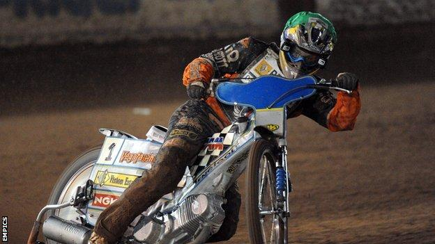 Wolves speedway