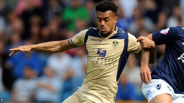 Leeds United striker Nicky Ajose