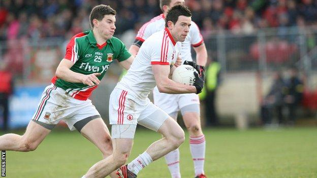 Conor Clarke may make surprise return for Omagh in Sunday's Ulster final against Slaughtneil