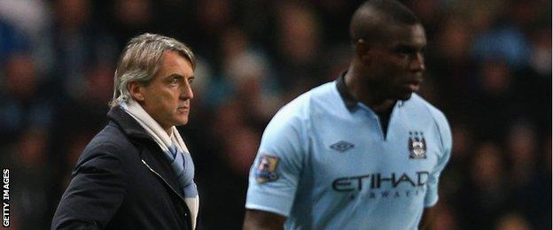 Richards says Mancini would try to get a reaction from players