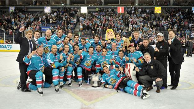 The Belfast Giants won their first Elite League title since 2006 in emphatic fashion