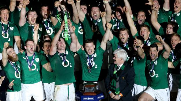 Ireland won four of their five matches to win the Six Nations Championship and give the retiring Brian O'Driscoll the perfect send-off