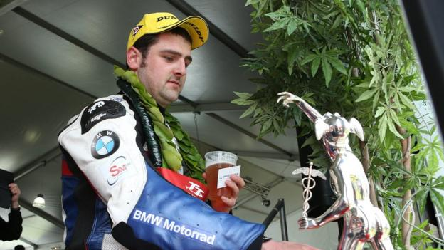 Michael Dunlop again dominated the Isle of Man TT by winning four races for the second year in a row including the blue riband Senior event