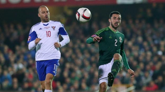 Northern Ireland beat the Faroe Islands in October in the only international to be played at Windsor Park during 2014