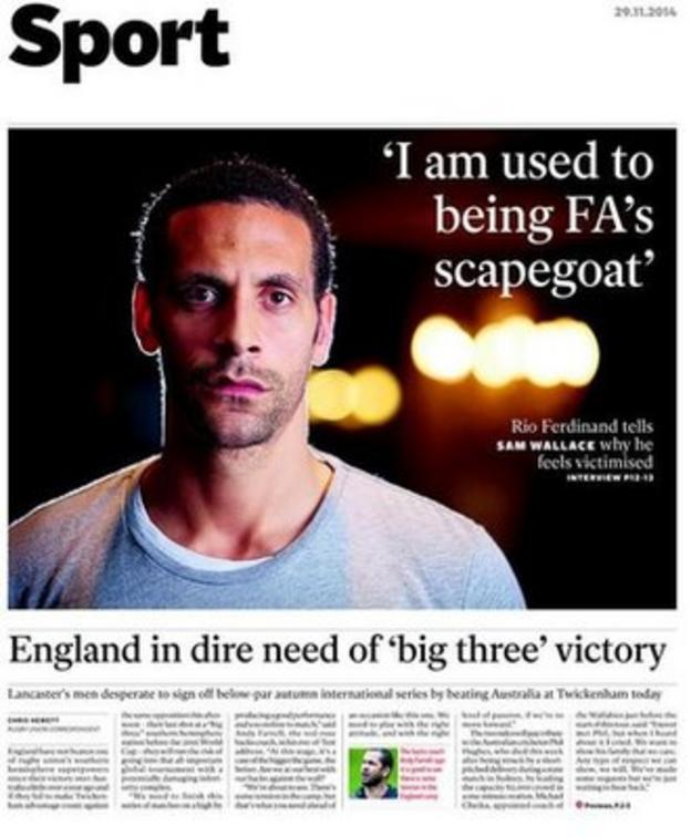 Saturday's Independent