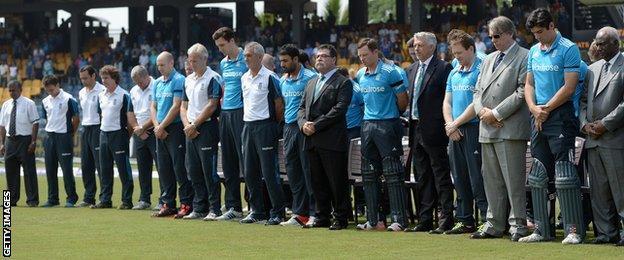 England players ahead of the ODI against Sri Lanka
