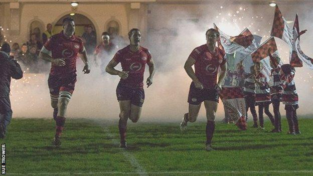 Jersey run out in the dark at St Peter