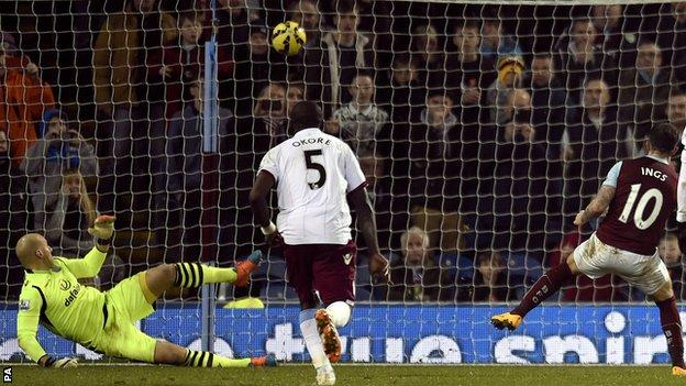 Danny Ings scores for Burnley