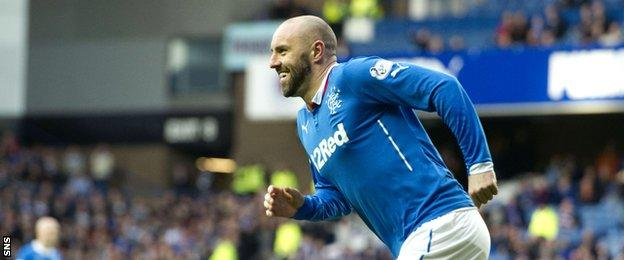 Kris Boyd scored within two minutes of coming on as a sub to replace Jon Daly