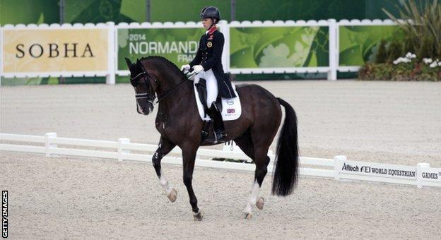 Charlotte Dujardin and her horse Valegro