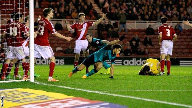 Rudy Gestede scored for Blackburn