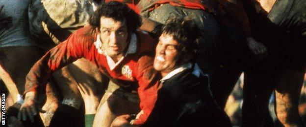 Gareth Edwards on the 1971 Lions tour to New Zealand