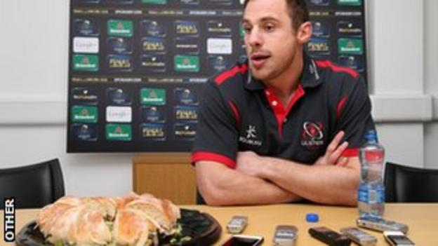 Tommy Bowe could be dining out on an Ulster victory this weekend