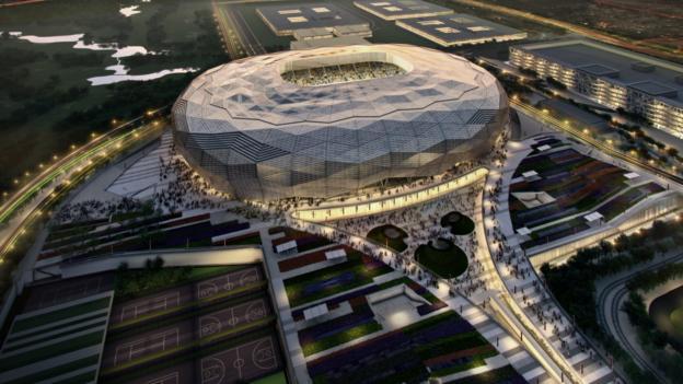 World Cup 2022: Qatar release new stadium plans - BBC Sport