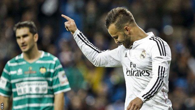 Real Madrid's Jese Rodriguez
