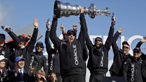 The Oracle team in 2013