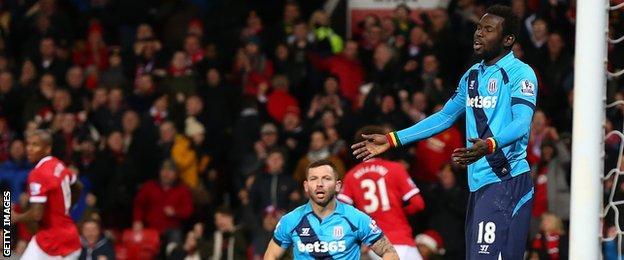 Manchester United v Stoke