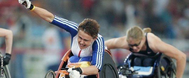 Baroness Tanni-Grey Thompson won BBC Wales Sports Personality three times
