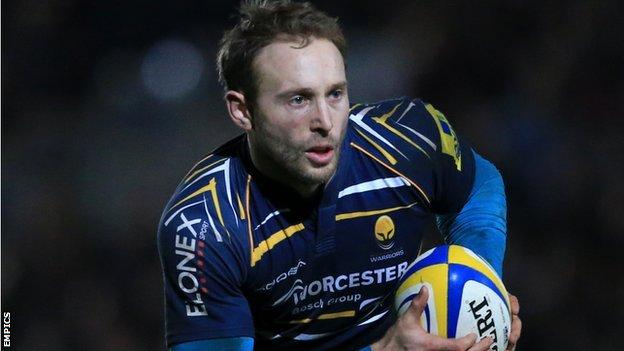 Worcester full-back Chris Pennell