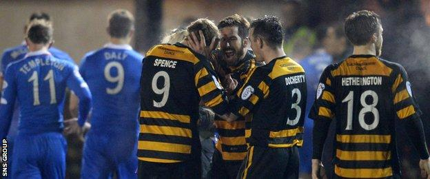 Alloa now have the chance to add to their 1999 Challenge Cup success