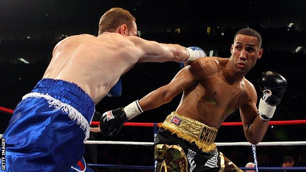 George Groves and James DeGale