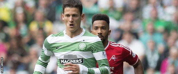 Tonev was found guilty of abusing Logan during a match at Celtic Park on 13 September