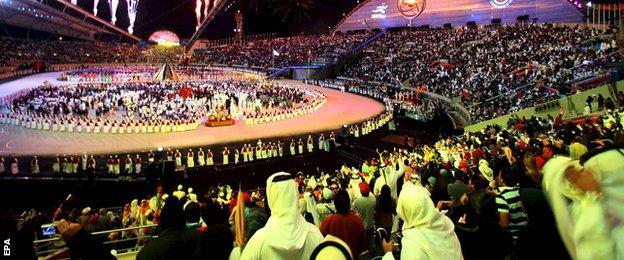 Khalifa International Stadium in Doha, Qatar