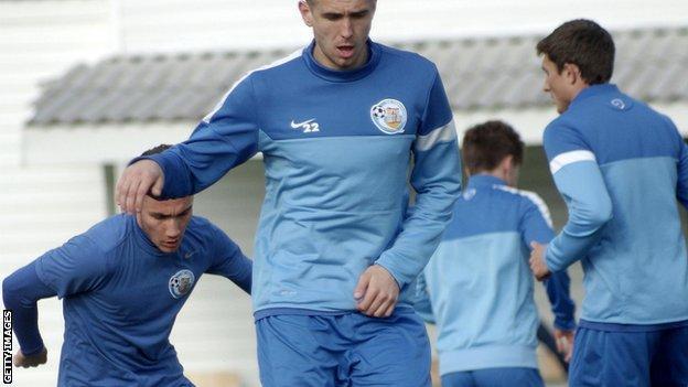 TSK Sevastopol players