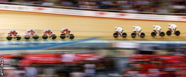 Great Britain women's team pursuit