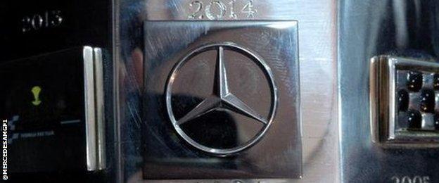 F1 constructors championship trophy
