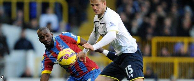 Yannick Bolasie and Eric Dier